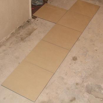 Montarea placilor ceramice de gresie pe hol