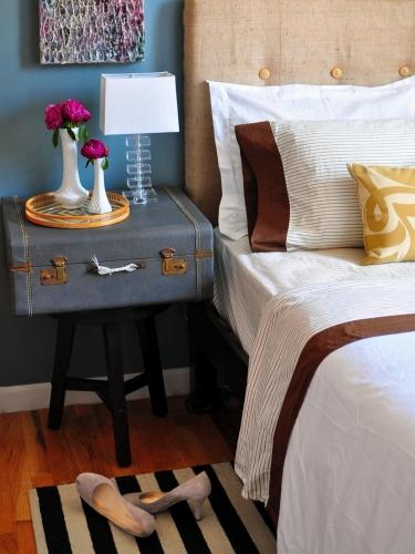 Amenajare in stil vintage dormitor mic