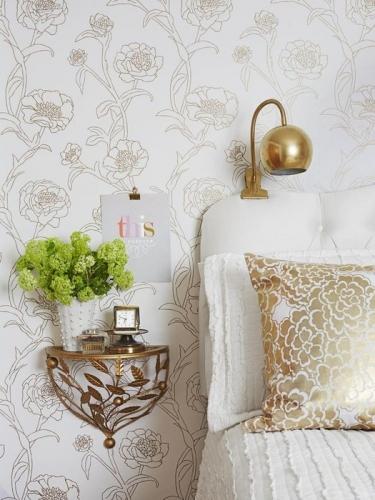 Cu ce putem inlocui noptierele intr-un dormitor mic - 30 de idei in imagini