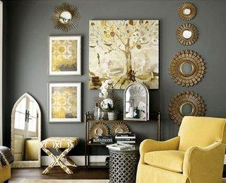 Accesorizarea peretelui intr-un mod armonios si placut