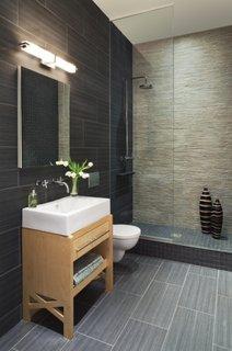 Oglinda moderna pentru baie cu neon