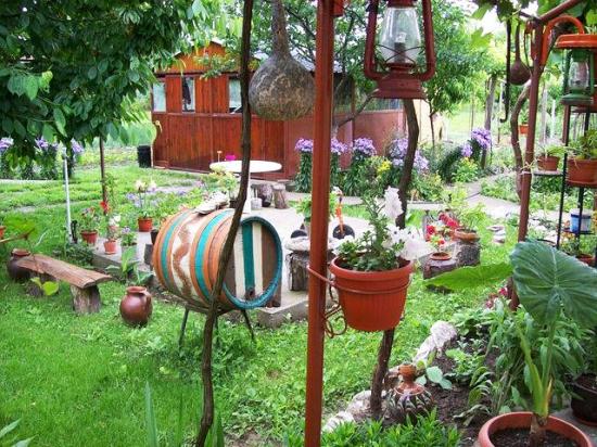 Ornamente de gradina facute acasa