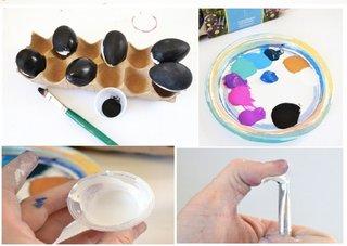 Materiale necesare pentru vopsire oua Paste