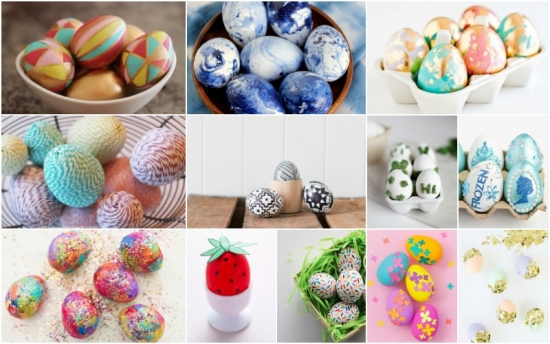 Idei creative pentru decorarea si vopsirea oualor de Paste