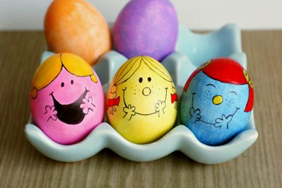 Oua pentru Paste micile domnisoare