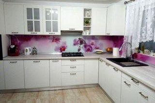 Sticla printata pentru bucatarie - panou decorativ