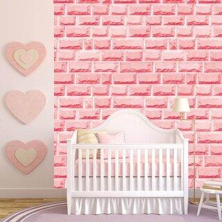 Panou decorativ roz pentru camera copilului