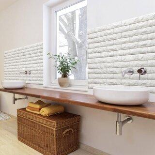 Panouri din spuma pentru decorare pereti baie