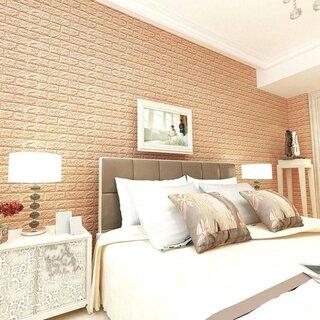 Tapet decorativ 3 D din spuma efect caramida