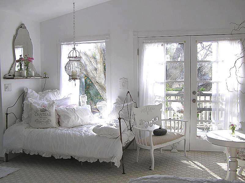dormitor complet alb