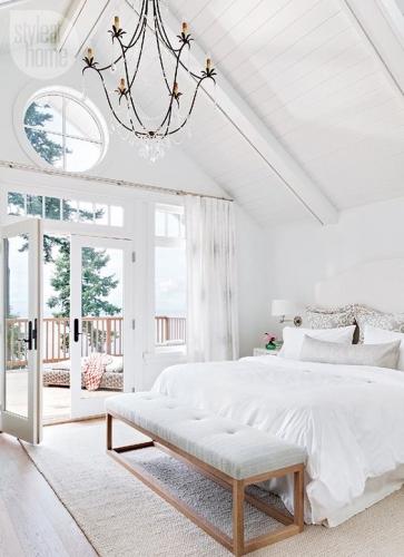 dormitor cu iesire in balcon