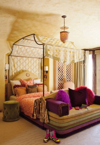 Dormitor de inspiratie marocana