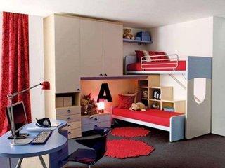 Dormitor amenajat pentru 2 copii