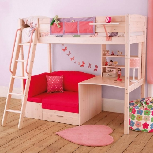 Cute Little Girl Bunk Beds