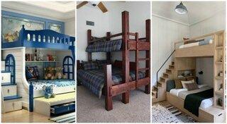 Paturi etajate pentru copii modele frumoase