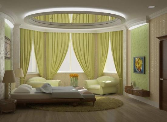 Amenajare interesanta pentru un dormitor elegant