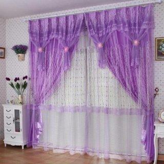 Perdea si draperii violet