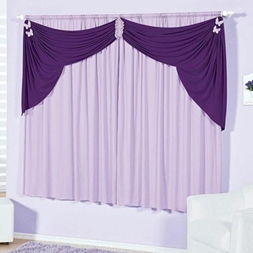 Perdea si draperie violet