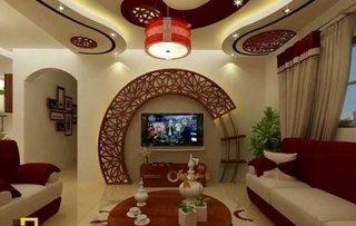 Decor perete cu televizor
