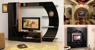 Decoruri perete cu televizor