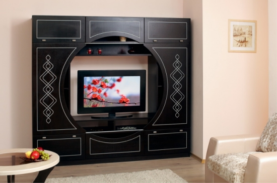 Mobilier clasic perete TV