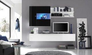 Mobilier modern perete televizor