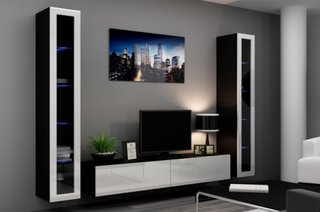 Mobilier modern perete tv
