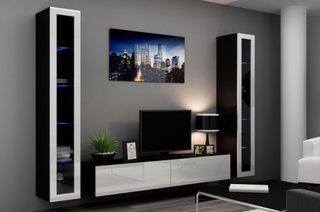 Mobilier modern perete tv