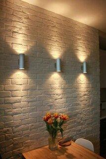 Iluminare pereti din piatra