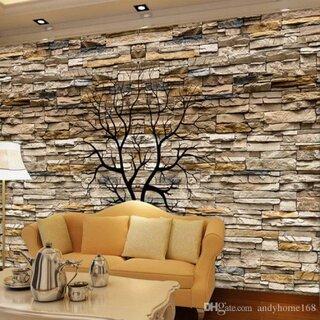 Model de perete din piatra