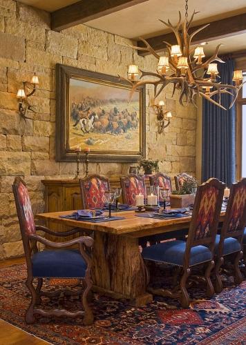 Masa rustica din lemn masiv