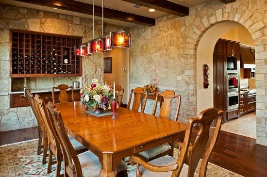 Suport lemn pentru sticle de vin pe perete