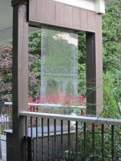 Model de perdea de apa pentru interior sau exterior