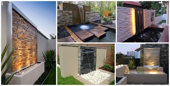 Perdele sau pereti de apa - elemente spectaculoase pentru gradina ta