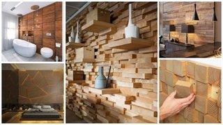 Pereti placati cu lemn