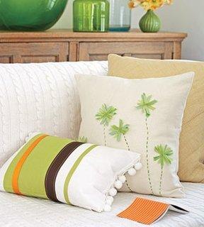 Modele diverse de perne decorative pentru canapele