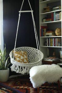Introducerea unui cocon in camera pentru spatiul de relaxare si citire