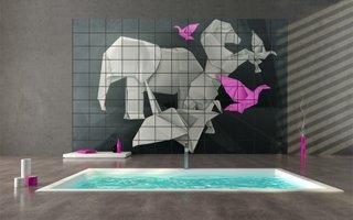 Idee pentru personalizarea faiantei din baie