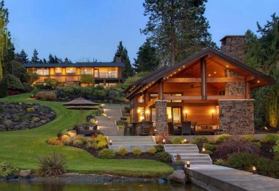 Iluminat terasa acoperita cu plafoniere led si aplici