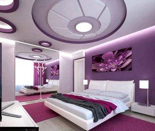 Model plafoniera led dormitor