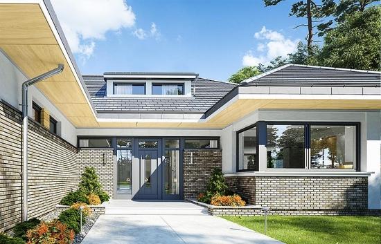 Casa eleganta doar cu parter