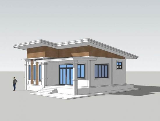 Casa cu parter si veranda