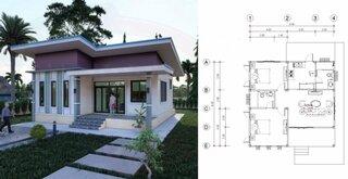 Plan casa moderna cu 2 dormitoare 81 mp.jpg