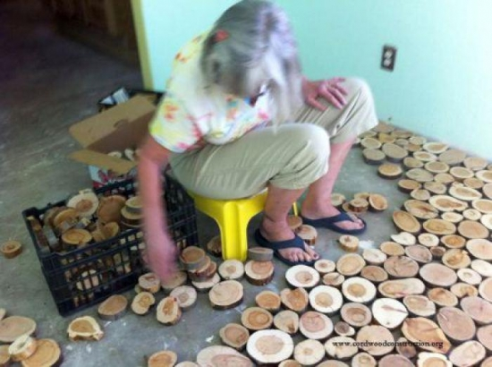 Asezarea rondelelor pe sapa