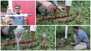 Pompa de apa fara electricitate