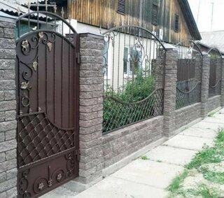 Idee de gard si porti din foer forjat