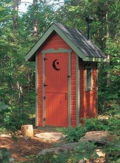 Cabina WC curte