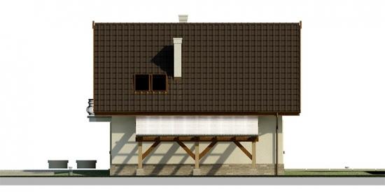 Lateral casa elevatie