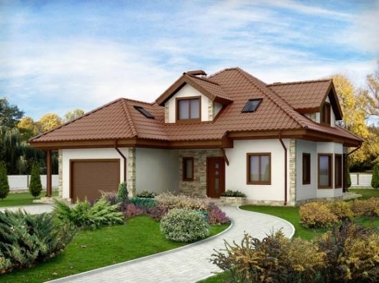 Proiect de casa cu 2 intrari