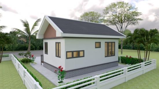 Plan casa cu parter mica